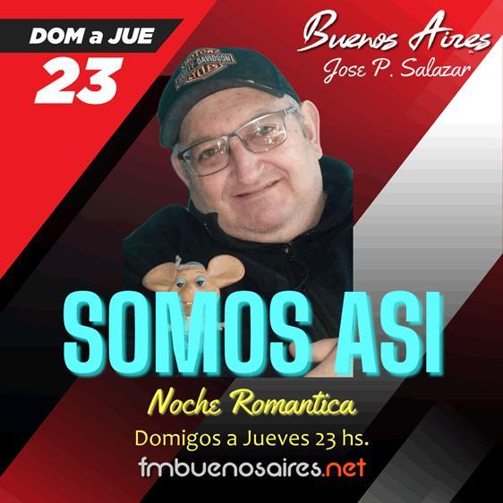 Noche Romantica SOMOS ASI 2021