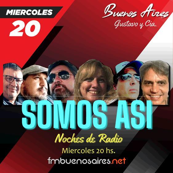 Noches de Radio SOMOS ASI 2021