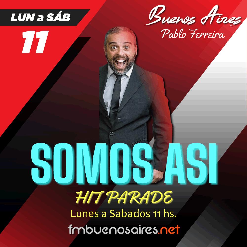 Pablo Ferreira HIT PARADE SOMOS ASI 2021